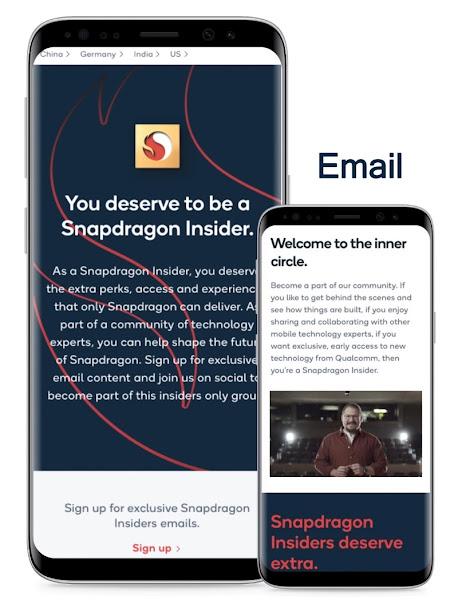Qualcomm anuncia o Snapdragon Insiders