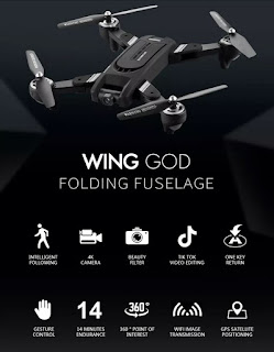 Spesifikasi Drone Eachine EG16 Wing God