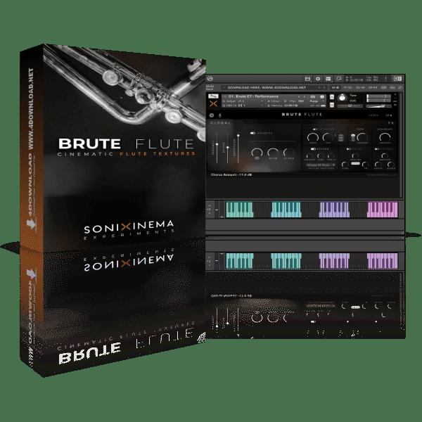 Sonixinema Brute Flute KONTAKT Library