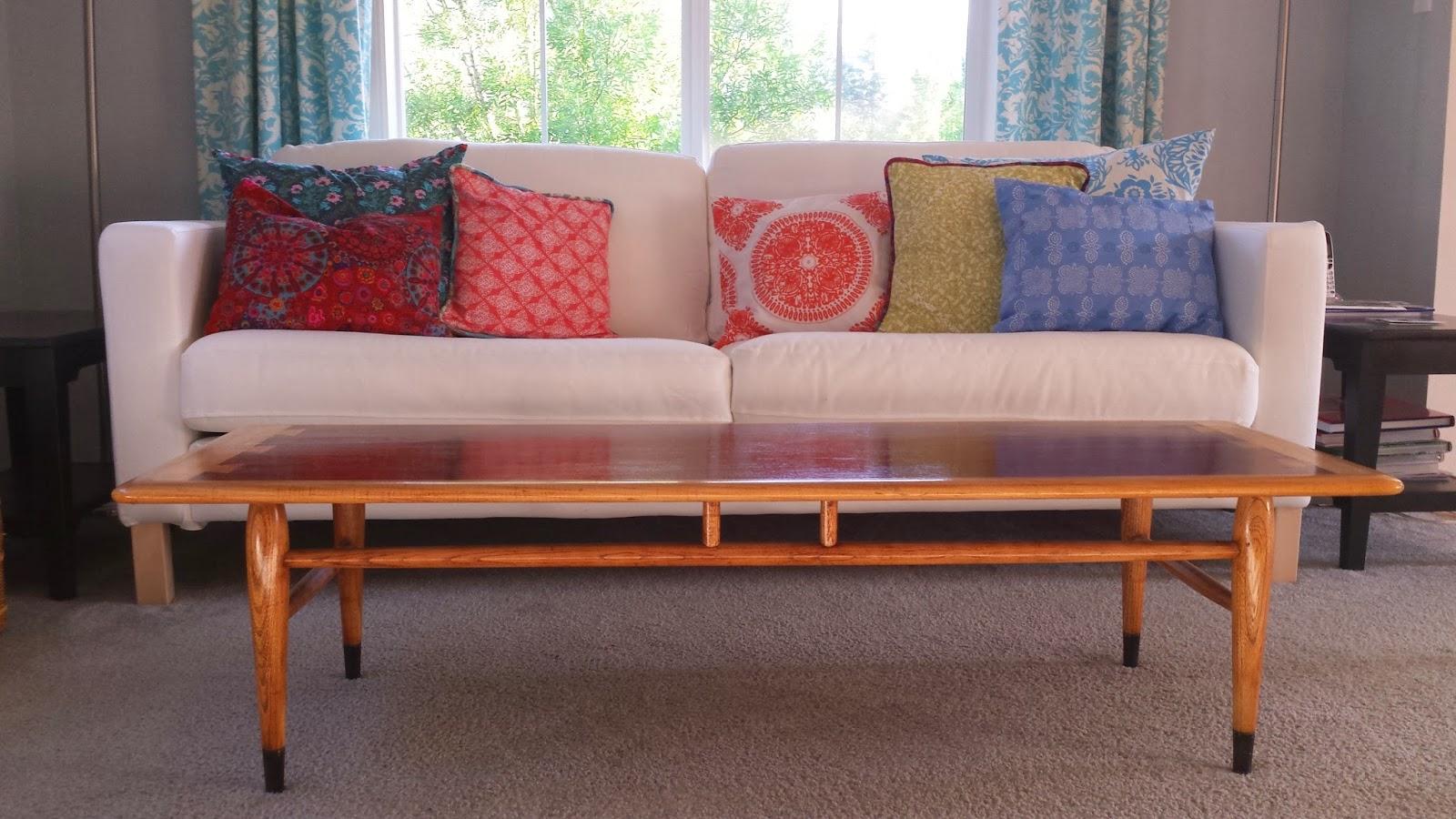 seven ways simple ikea karlstad sofa makes it home. Black Bedroom Furniture Sets. Home Design Ideas