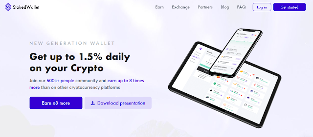 Staked Wallet New POS Crypto Wallet