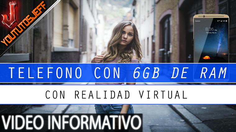 Anuncian telefono con 6GB de RAM y realidad virtual | 2016