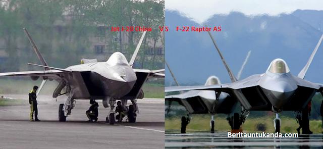 Pesawat Siluman Buatan China atau AS