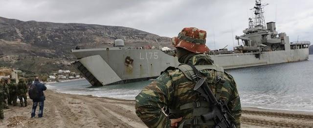 Στον Βόλο επιτελείς του Πολεμικού Ναυτικού για τον ελλιμενισμό αρματαγωγών στο λιμάνι