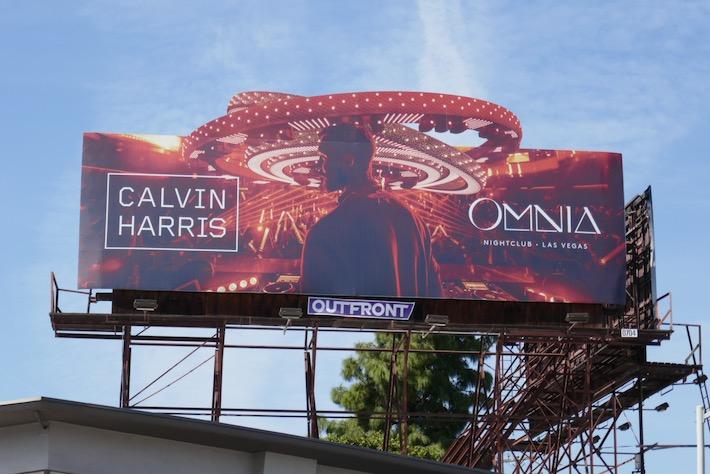 Calvin Harris Omnia 2020 billboard