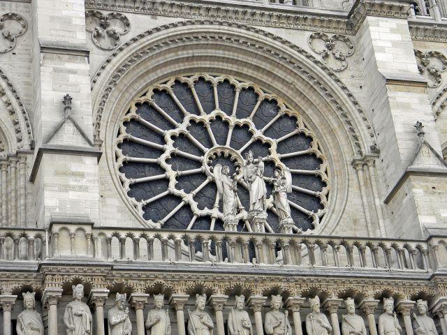 Paryż, zabytki, sztuka kościołów