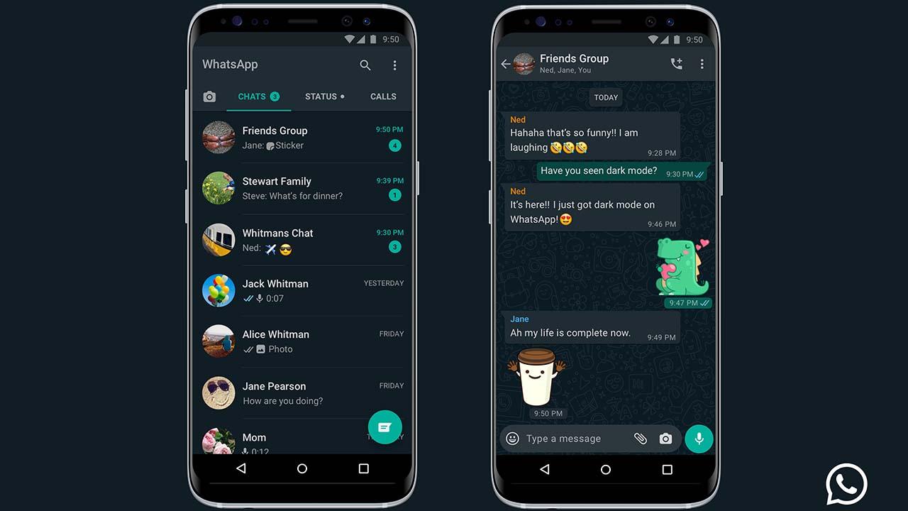 WhatsApp Resmi Meluncurkan Mode Gelap ke Semua Pengguna