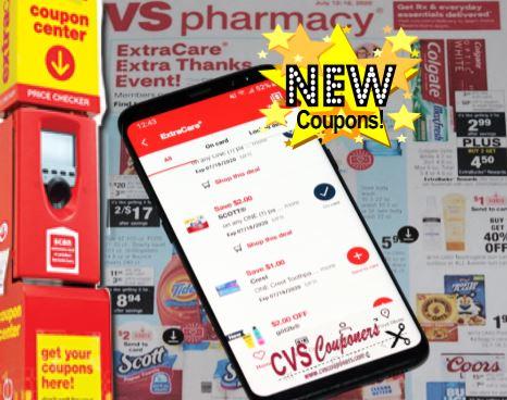 CVS Coupons & Digital App Coupon List
