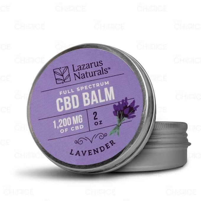 Lazarus Naturals   Lavender Full Spectrum  CBD Balm