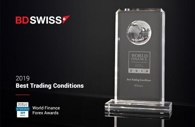 BDSwiss Raih Penghargaan Eksekusi Perdagangan Terbaik Dari Global Forex Awards 2019