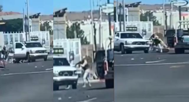 Video: No mms, así fue la persecución y balacera en Nogales, Sonora los de La Guardia Nacional bajan de las greñas a Sicarios de la camioneta