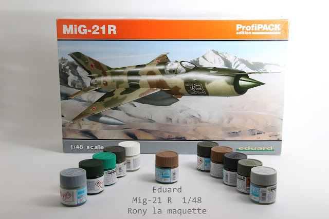 Maquette MIG-21R Eduard 1/48
