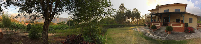 Panoramic View of Farm