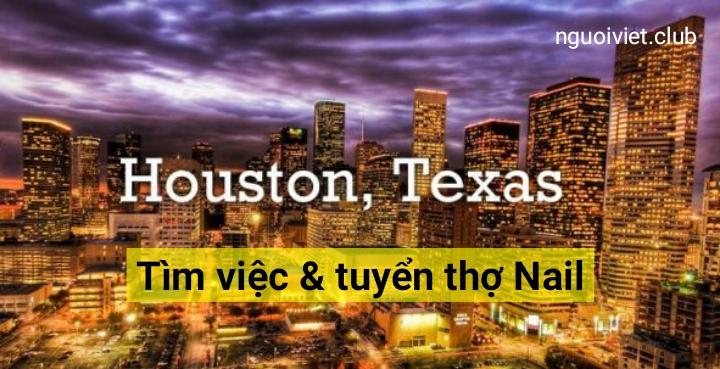 Tìm việc và tuyển thợ Nail ở bang Texas
