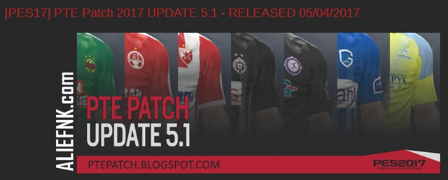 PES 2017 | PTE Patch 2017 Update 5.1 [image by http://ptepatch.blogspot.co.id/]