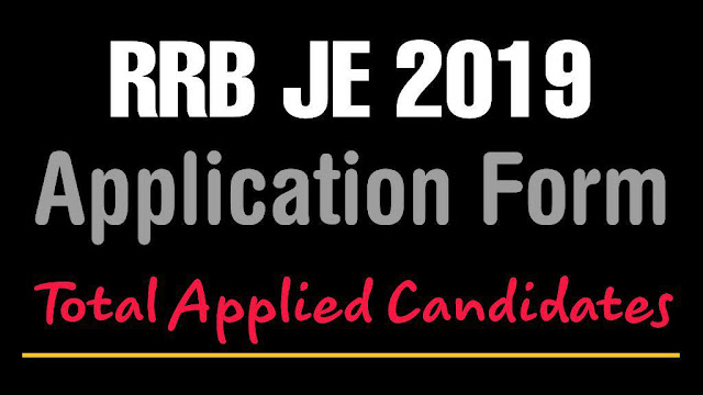 How many students are appearing for the RRB JE 2019 from different RRB zones in 2019?