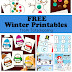 Free Winter Printables for Kids