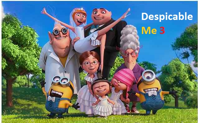 Despicable Me 3 Full Movie Free Download HD