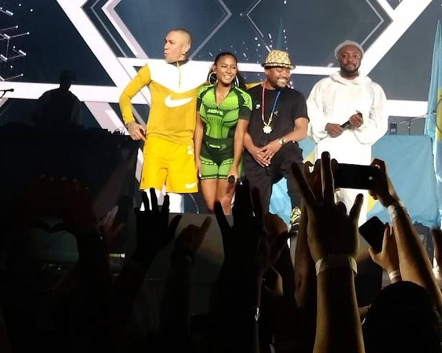 Black Eyed Peas no Brasil: Acompanhe toda a trajetória da banda pelo país, mostrando todo o amor pelos brasileiros