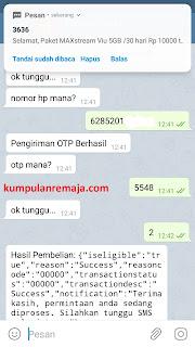 Cara Tembak Kouta OMG Menggunakan Bot Telegram