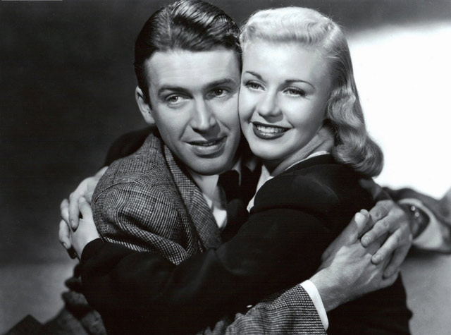 Jimmy Stewart with Ginger Rogers worldwartwo.filminspector.com