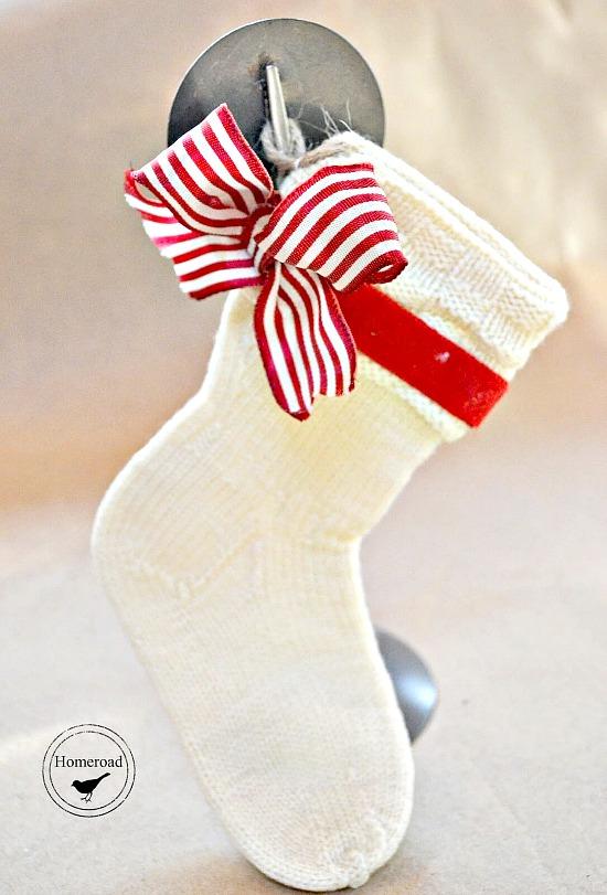 Christmas Stockings from Vintage Wool Baby Socks