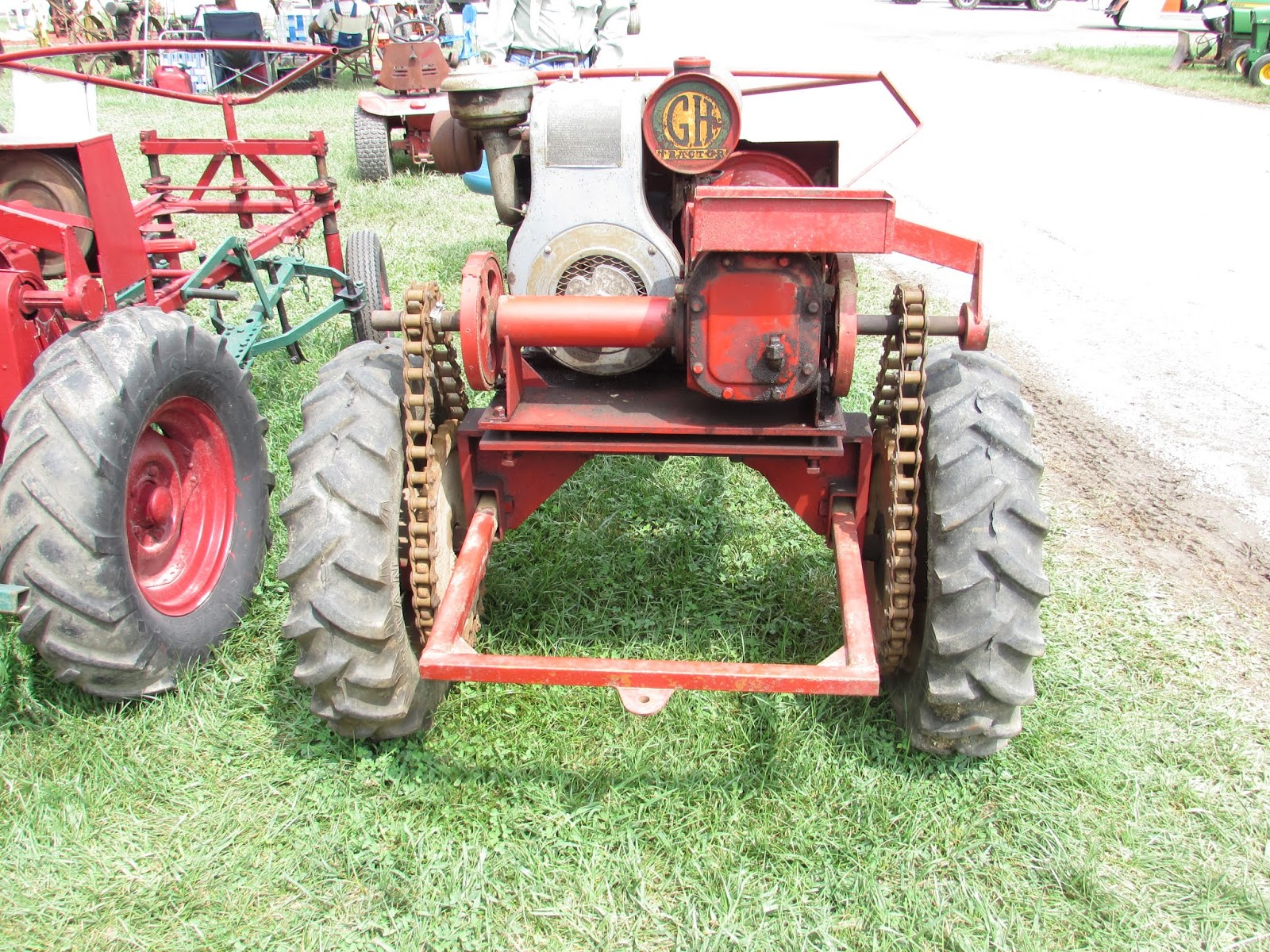True Blue Sam the Travelin' Man: Tuesday Torque: Grand Haven Tractor