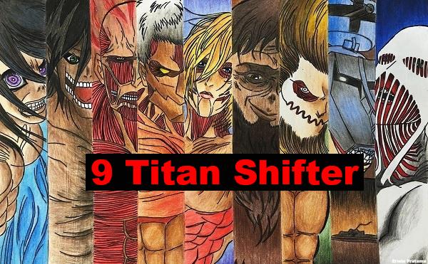 9 kekuatan titan shifter