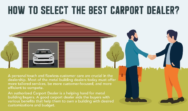 How to Select the Best Carport Dealer ? #infographic