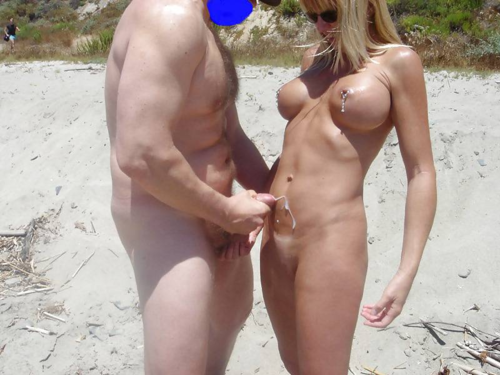 Beach pubic hair see through