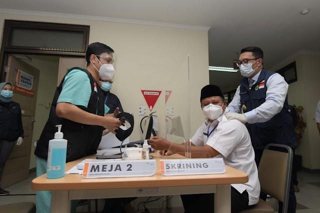 Vaksinasi Tahap 2 Di Jabar Pada 28 Januari 2021