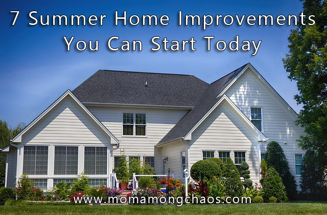 Summer Home Improvement Tips
