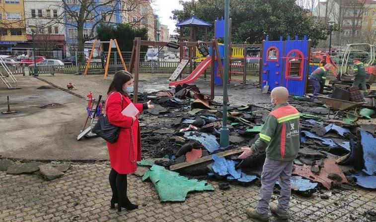 O concello de Ferrol traballará na accesibilidade dos parques infantís