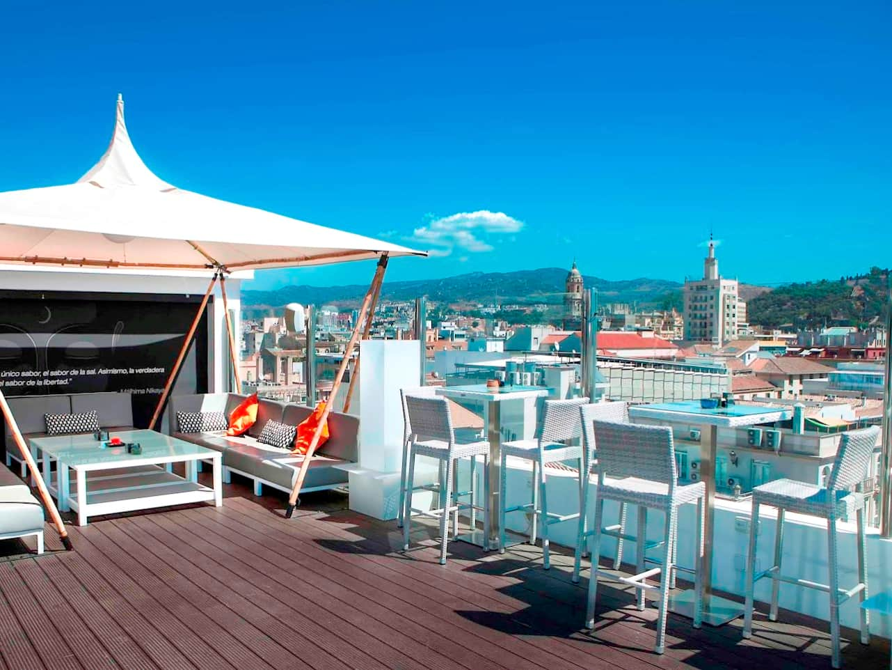 Terraces Amp Rooftop Bars In Malaga