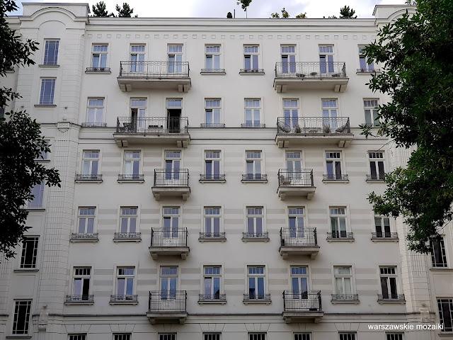 Warszawa Warsaw kamienica ulica warszawskie ulice architektura architecture Śródmieście
