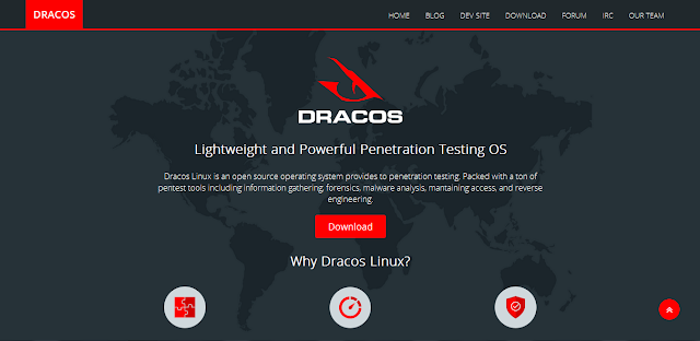 Dracos Linux – Distro Linux Peneration Testing Indonesia