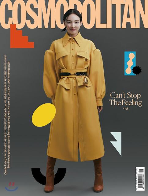 TWICE Nayeon Cosmopolitan Cover