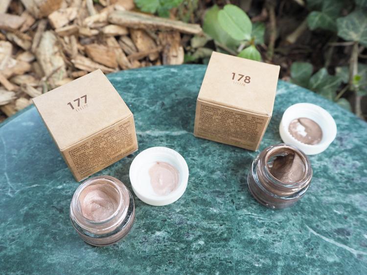 Couleur Caramel Cremelidschatten Essence de Provence 177 und 178