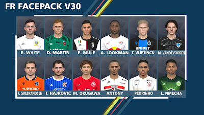PES 2017 Facepack v30 by FR Facemaker