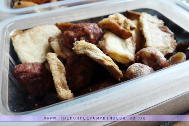 graze box snack - eleanor's apple crumble