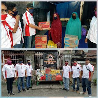 Peduli Masyarakat Terdampak Covid-19,PERMAS Beri Bantuan Korban Kebakaran