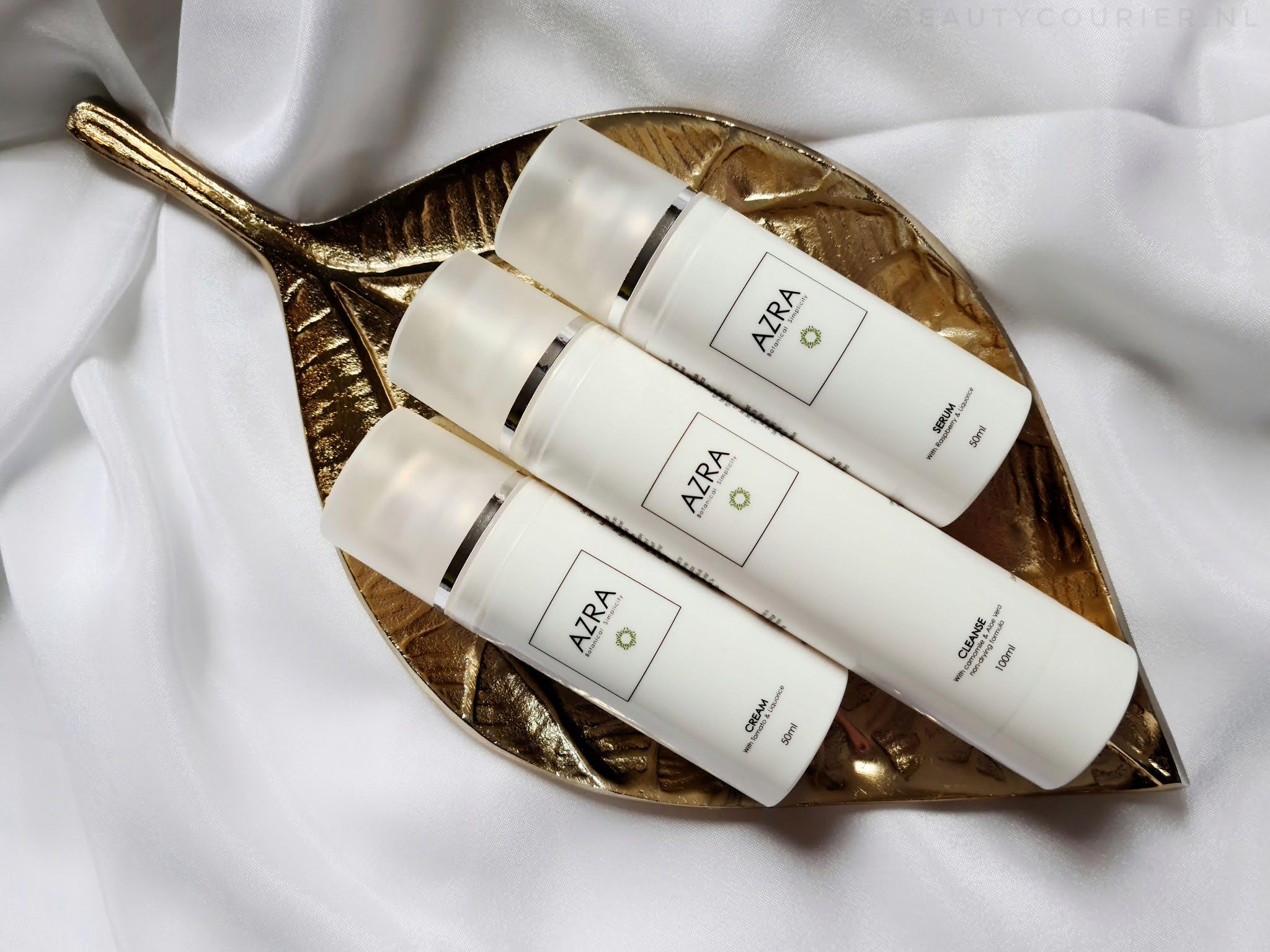 Review | AZRA Botanical Simplicity skincare line | beautycourier.nl