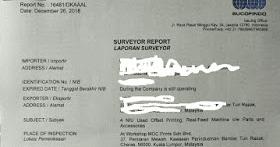 Contoh Surat Laporan Surveyor Sucofindo Dan Laporan Surveyor Kso Sucofindo Indonesia Indonesia Undername Import Export Blog