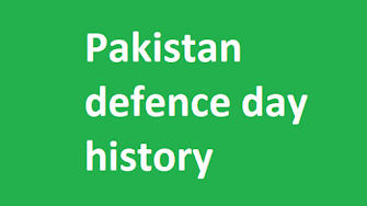 Pakistan defence day history