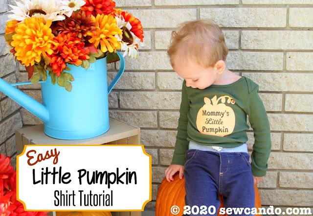 easy pumpkin shirt