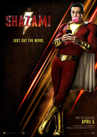 Shazam! 2019 Full Hindi Movie Download Dual Audio BRRip 720p