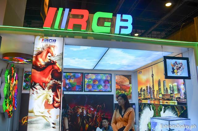 RGB Exhibit Booth
