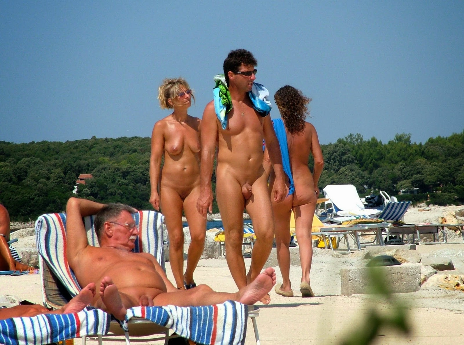european family naturists