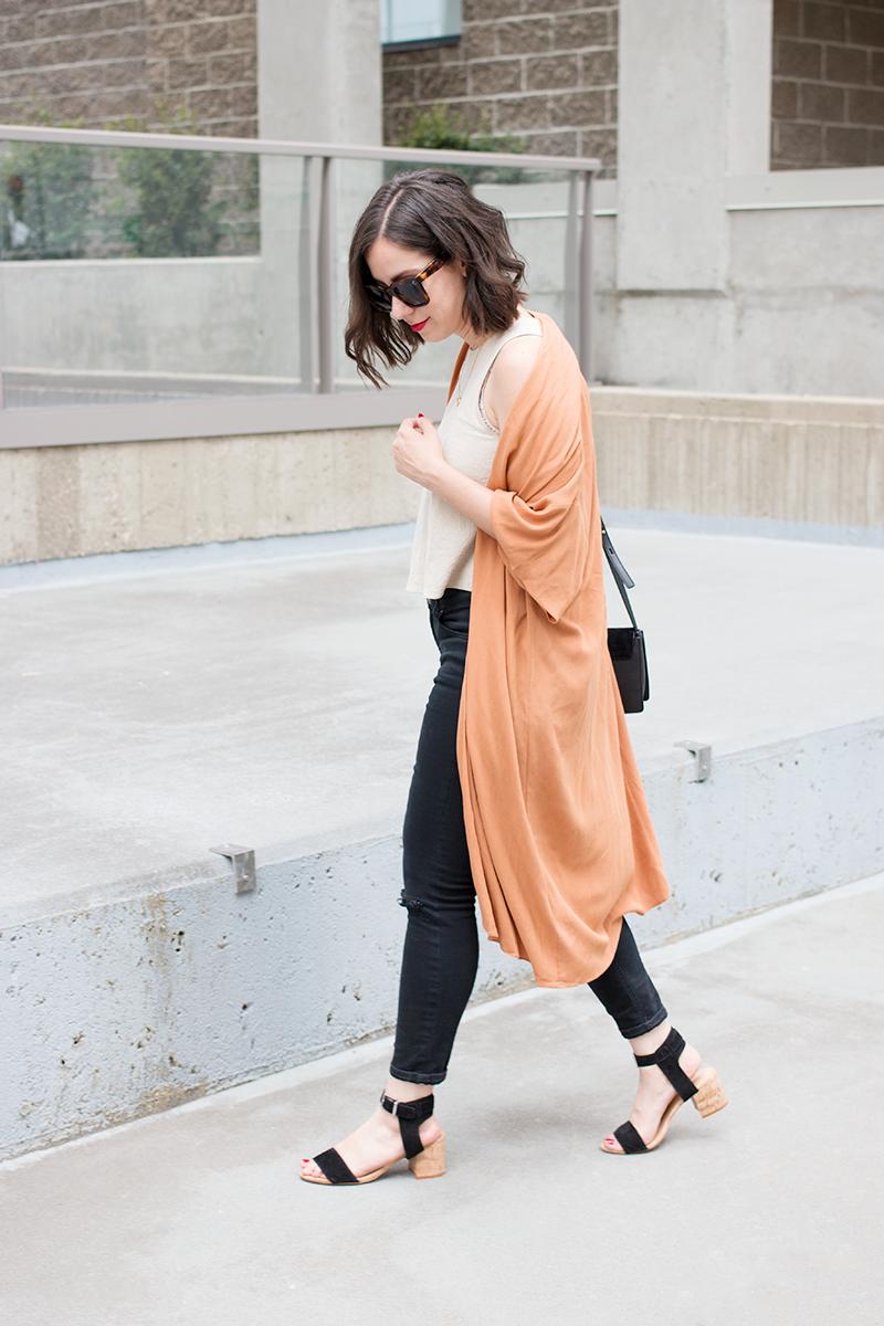 How to style a kimono cardigan