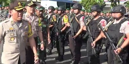 Polisi Siap Tembak Penghalang Warga Mencoblos di Tasikmalaya